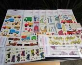 HUGE SALE on Mrs. Grossman's Stickers 14 packs Large Lot