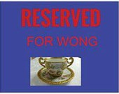 RESERVED for Wong- Limoges Tea Cup and Saucer; T&V; Hand Painted And Signed By The Artist MBL (M Blanche Lenzi) circa 1900    #DSC