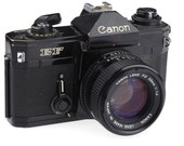 Canon EF - 35mm Film Camera with Canon 50 mm 1:1.4  / Fully Working!