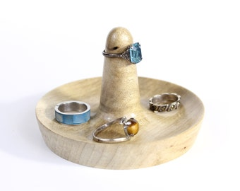 Ring Dish Made from Maple Wood