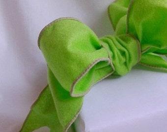 """Ribbon / Green Ribbon / Soft Green Felt Ribbon / 2 1/2"""" X 9 Feet"""