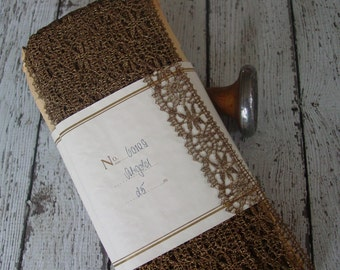 Lovely OLD AnTiQue Metallic LACE trim with PaTiNa, one yard with more available, simply GoRgEouS