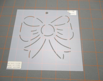 Vintage Vinyl Quilting Stencil/Template - Bow OR Star