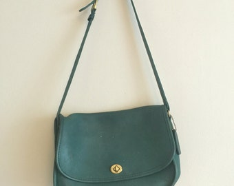 Vintage COACH Green Purse