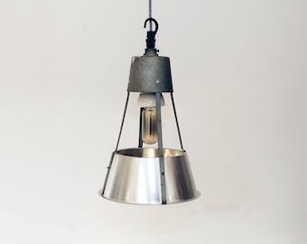 Vintage Industrial Factory Pendant Ceiling Light - Mid Century Modern