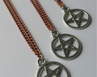 Mixed Metal Pentagram