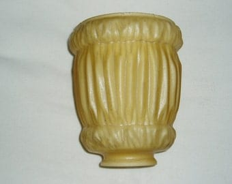 Glass Lamp Shade Globe, Consolidated Fluted