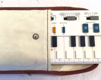 Vintage Eggshell Casio Keyboard VL-tone Synthesizer AND drum machine Synth POP Forever