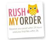 Rush Order, Custom Invitation, Custom Birth Print, Custom Wall Art