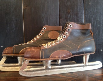 Skating Into Your Heart - 1940s-1950s Hockey Skates, eh.
