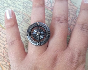 Pirate Compass Ring