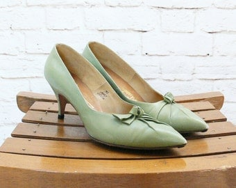 Sage Green Shoes Etsy