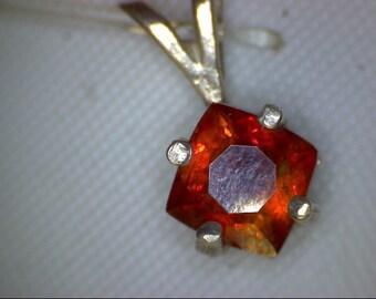 Stunning Red Sphalerite Pendant