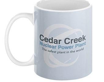 Cedar Creek Nuclear Power Plant Mug, 11oz or 15oz