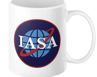 IASA Emblem Coffee Mug, 11oz or 15oz