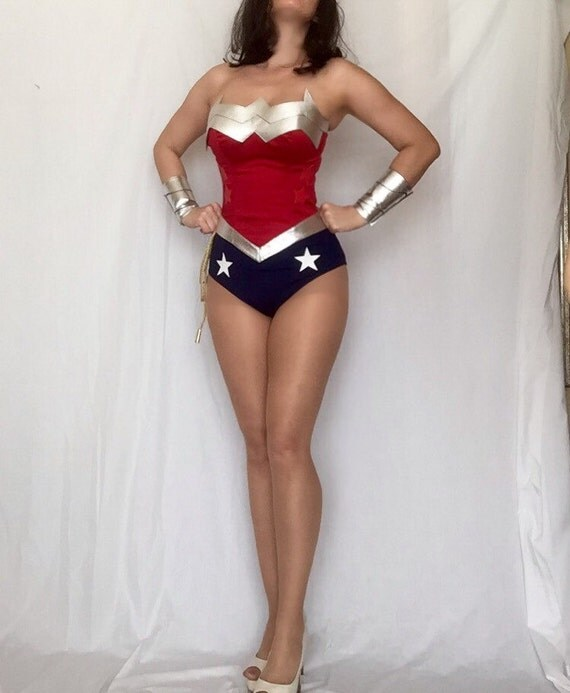 Wonder woman superhero costume-2131