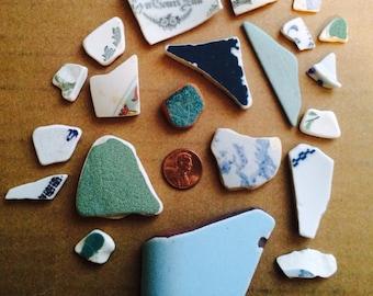 Lake Erie Pottery Shards