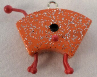American Girl Mini's Illuma Groovy Room orange Sparkle bird