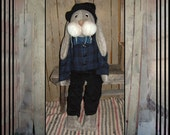 Reserved for 123Helen 39 inch tall plush rabbit wool blazer corduroy pants, wool fedora hat bow tie HAFAIR OFG FAAP