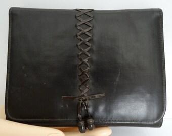 Vintage 1920s Handbag//20s Purse//Brown//Du Pont//Haute Couture//Fabrikoid//Art Deco// Art Nouveau//Flapper