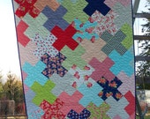 Love Multiplied Quilt Pattern in 5 Sizes from Baby to King ~ Charm Pack, Fat Quarter and Yardage Friendly PDF Pattern ~ BusyHandsQuilts
