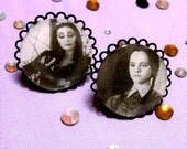 Adjustable WEDNESDAY or MORTICIA Addams Cameo Rings