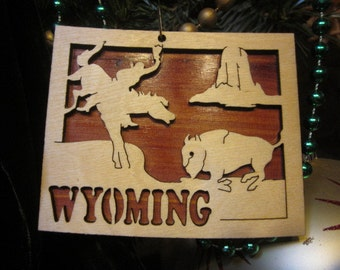 Wyoming Ornament