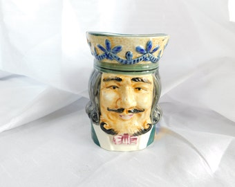 Vintage Occupied Japan Colonial Duke or King Large Toby Mug  CB1
