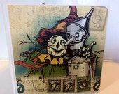 Wizard of Oz scrapbook premade pages chunky board mini album Graphic 45