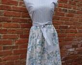 Rockabilly Dress,60's Style Dress,Vintage Inspired Dress,Handmade Dress,by Nine Muses Of Crete