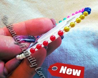 Knitters Marking Pins. Set of 40 pins. Knitting pins. Markers. Steel pins. Blocking pins. Knitting pins. Sewing pins. Set of pins.