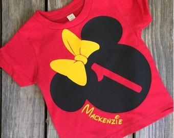 Minnie Birthday Shirt or Bodysuit