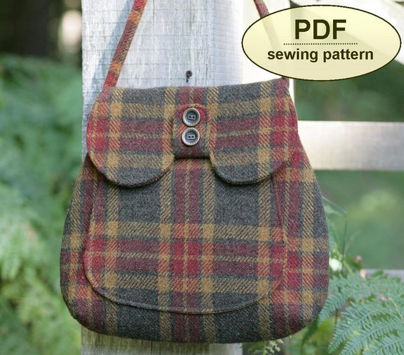New: Sewing pattern to make the Titchwell Bag - PDF pattern INSTANT DOWNLOAD