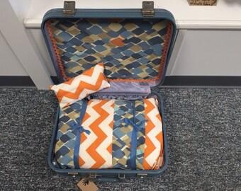 Repurposed Suitcase Pet Bed