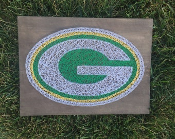 Made to order Green Bay Packers string art