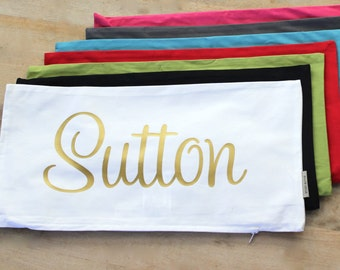 Monogram Pillow - Throw Pillow - Personalized Throw Pillow - Personalized Gift - Throw Pillow Cover - Decorative Pillow - Pillow Cover