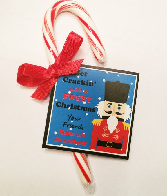 Personalized Christmas Gift Tags: Personalized Christmas Nutcracker Gift Tags Or Labels Party