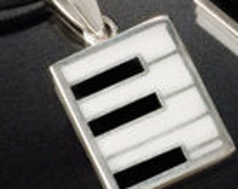 Piano key Pendant