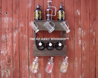 Growler rack