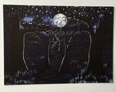 The Dark Trail - 5x7 matte print