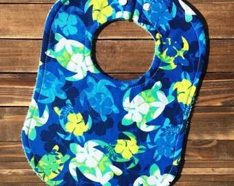 Sea Turtle, Turtle, Sea Turtle Bib, Turtle Bib, Boy Baby Bib, Baby Shower, Hawaiian, Baby Shower Gift, Baby Bibs, Bibs, Bandana Bib, Turtles