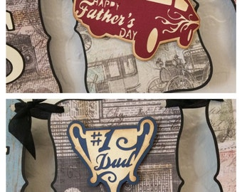 Happy Father's Day Men's Party Banner