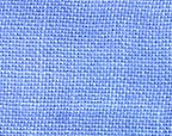 30 ct. PERIWINKLE hand-dyed cross stitch linen by Weeks Dye Works at thecottageneedle.com fabric hand embroidery