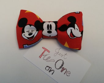 Boy's Mickey Mouse bow Tie