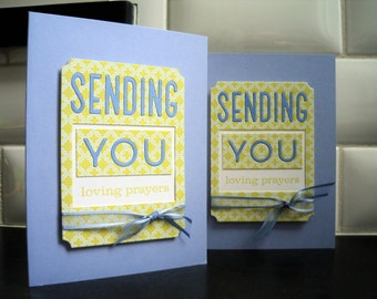 Handmade Sympathy Card, Condolences Card, Get Well Card, Support Card, Encouragement
