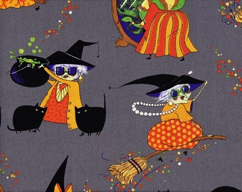Mona Makes Magic from Alexander Henry 100% cotton quilt fabric 7782 B - By the yard