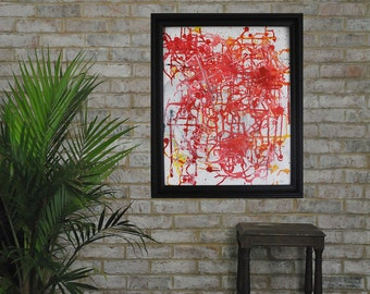 Original Abstract Painting Medulla on Canvas