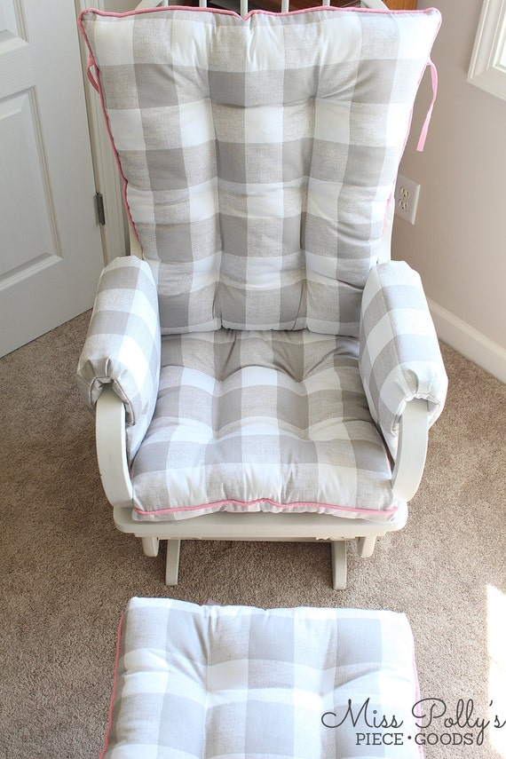 Cushions/ Glider Cushions/ Rocking Chair Cushions/ Glider Replacement ...
