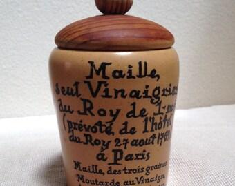 French vintage mustard pot