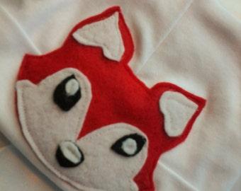 Newborn Boys Fox Beanie Hospital Hat
